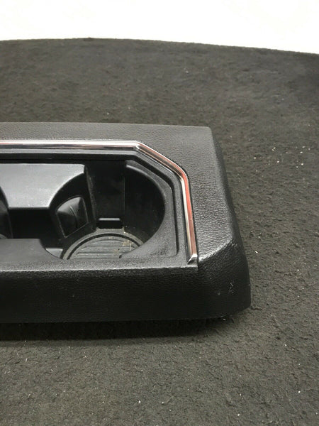 FORD F-150 Lariat 2015-2020 Black Center Console Rear Cup Holder Panel OEM