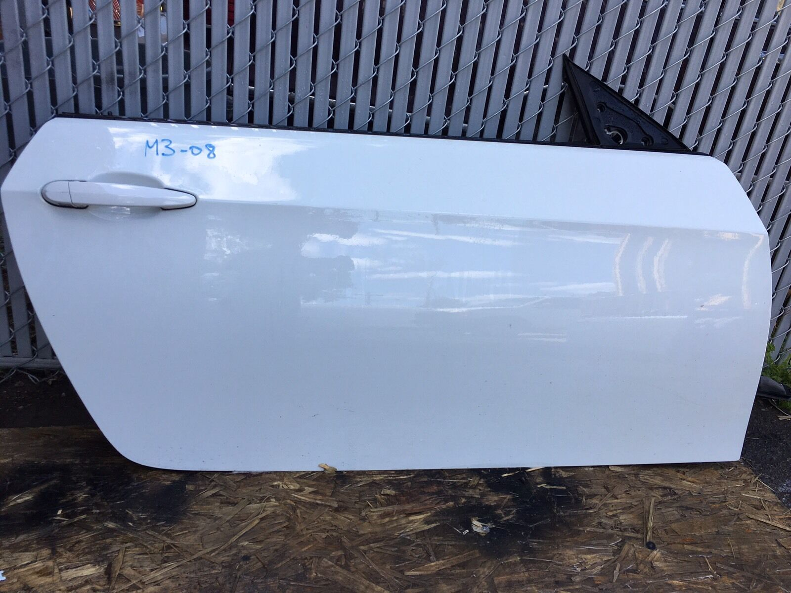 BMW M3 Coup 2 Door Right Side White FITS 2008-2009-2010-2011-2012-2013 OEM