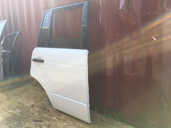 Range Rover Hse Right Rear Door White 2008 Fits 2006-2007-2008-2009-2010
