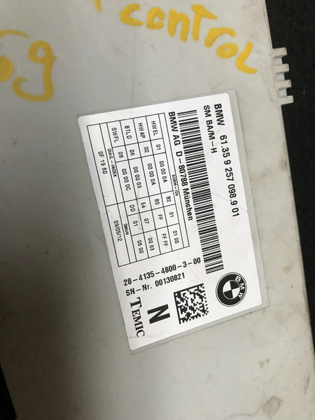 BMW 328i Seat Module Part# 61359257098 Fits 2014-2015-2016