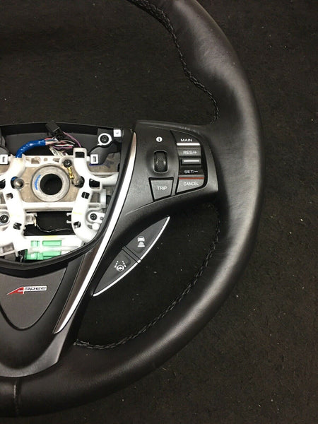ACURA TLX A-Spec Leather Steering Wheel W/ Controls & Shifter 78550TZ5C510M1 OEM