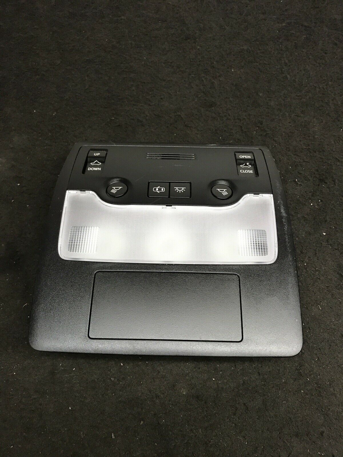 LEXUS IS250 IS350 2014-2016 Black Roof Overhead Console + Sunroof Control OEM