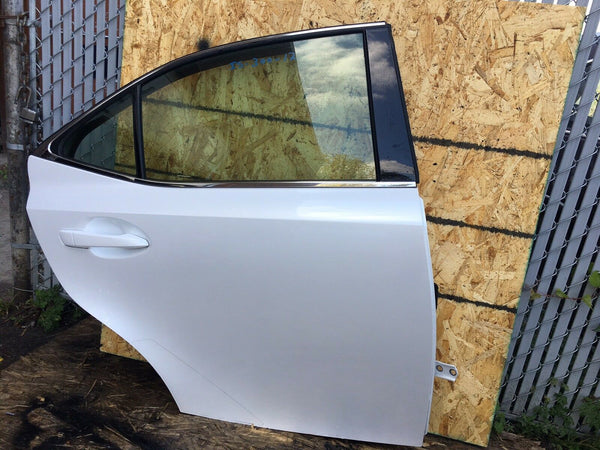 Lexus Is250 Is350 Is200 Rear Right Door White Fits 2016-2017 OEM