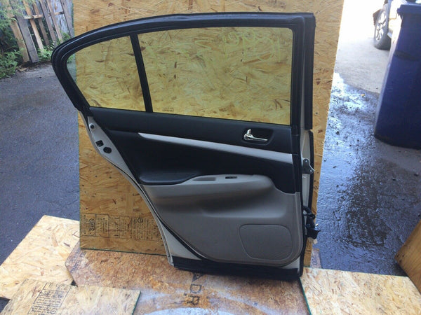 Infiniti G37x Left Rear Door Fits 2009-2010-2011-2012-2013
