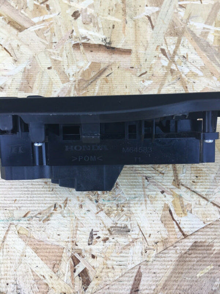 HONDA CIVIC 2016-2019 Black Driver Left Master Power Window Switch M64583 OEM