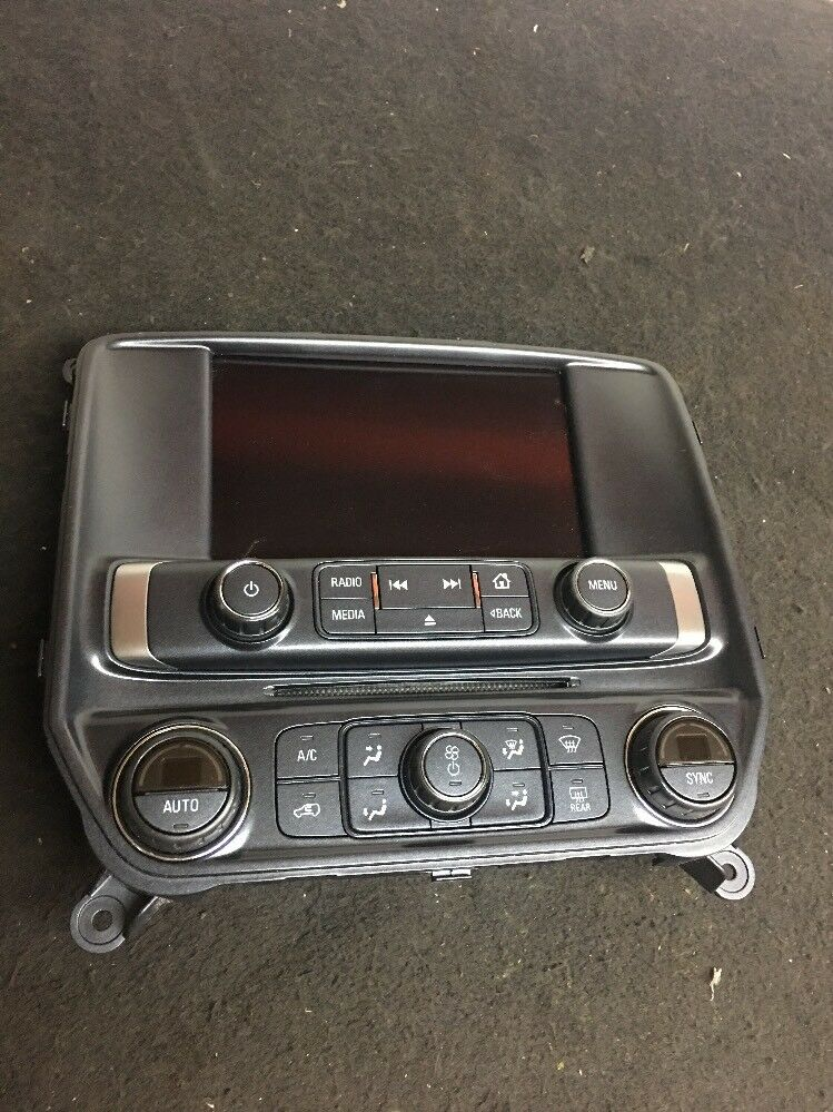 Chevrolet GMC Cadillac Radio Screen  With Air Condition Control Part# 23485742