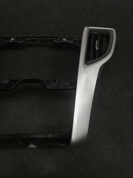 ACURA TLX 2015-2020 Silver Middle Dash Radio Panel Trim With Air Vent OEM