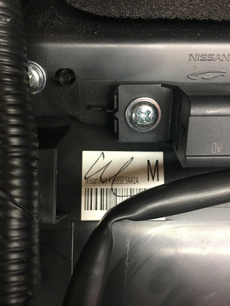 NISSAN MURANO 2015-2018 Rear USB AC A/C Air Condition Panel Trim 96950-5AA1A OEM