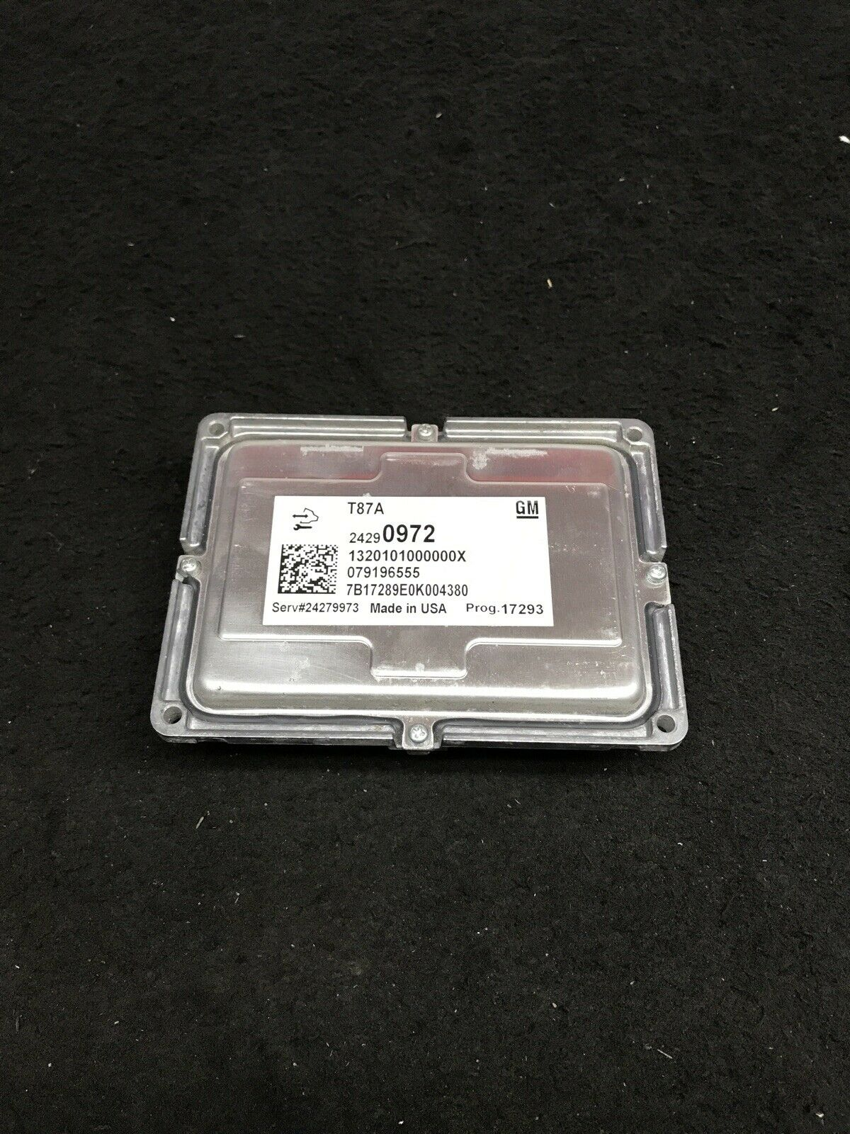 BUICK ENCLAVE GMC 2017-2019 Transmission ID Control Module 24290972 OEM