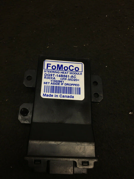 FORD F-150 2015-2019 Steering Wheel Heated Control Module DG9T-14B561-CA OEM
