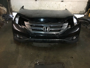 Honda CR-V Front End Clip 2013 2014 Black Includes Headlights