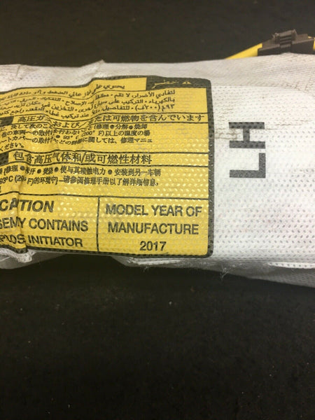TOYOTA TUNDRA 2014-2018 LH Left Driver Side Seat Airbag Air Bag OEM