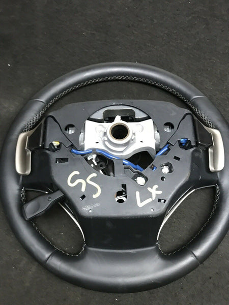 LEXUS GS350 2013-2015 Black Leather Steering Wheel W/ Controls & Paddles OEM