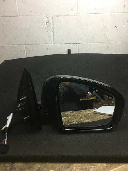 Nissan Pathfinder Mirror Right Side Heated Fits 2014-2016 Black With Camera