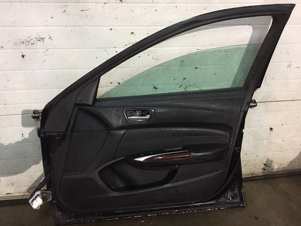 Acura TLX Right Front Door Black 2015 Fits 2015-2016-2017