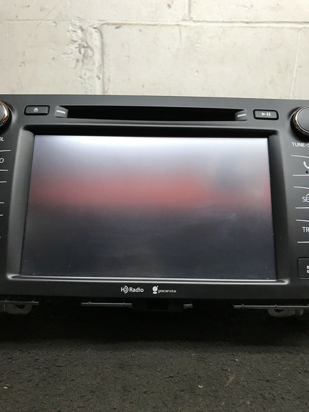TOYOTA HIGHLANDER 2015-2017 Radio Touchscreen Display GPS 86100-0E250 57063 OEM