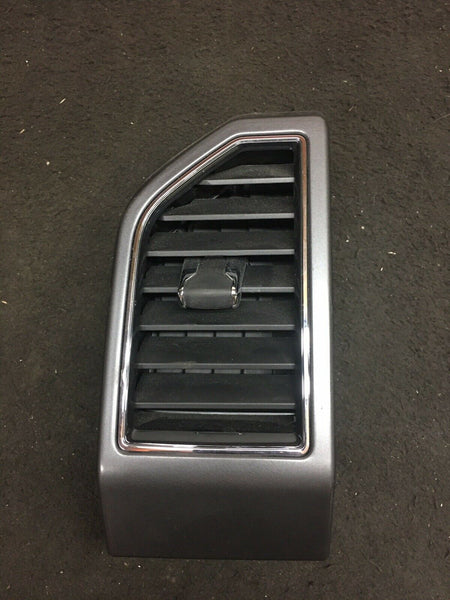 2015-2020 Ford F150 F-150 AC Air Duck Vent Right RH Driver Silver Gray Vent OEM