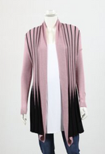 Load image into Gallery viewer, Favourite Fan Cardi- Pink, Mustard & Silver