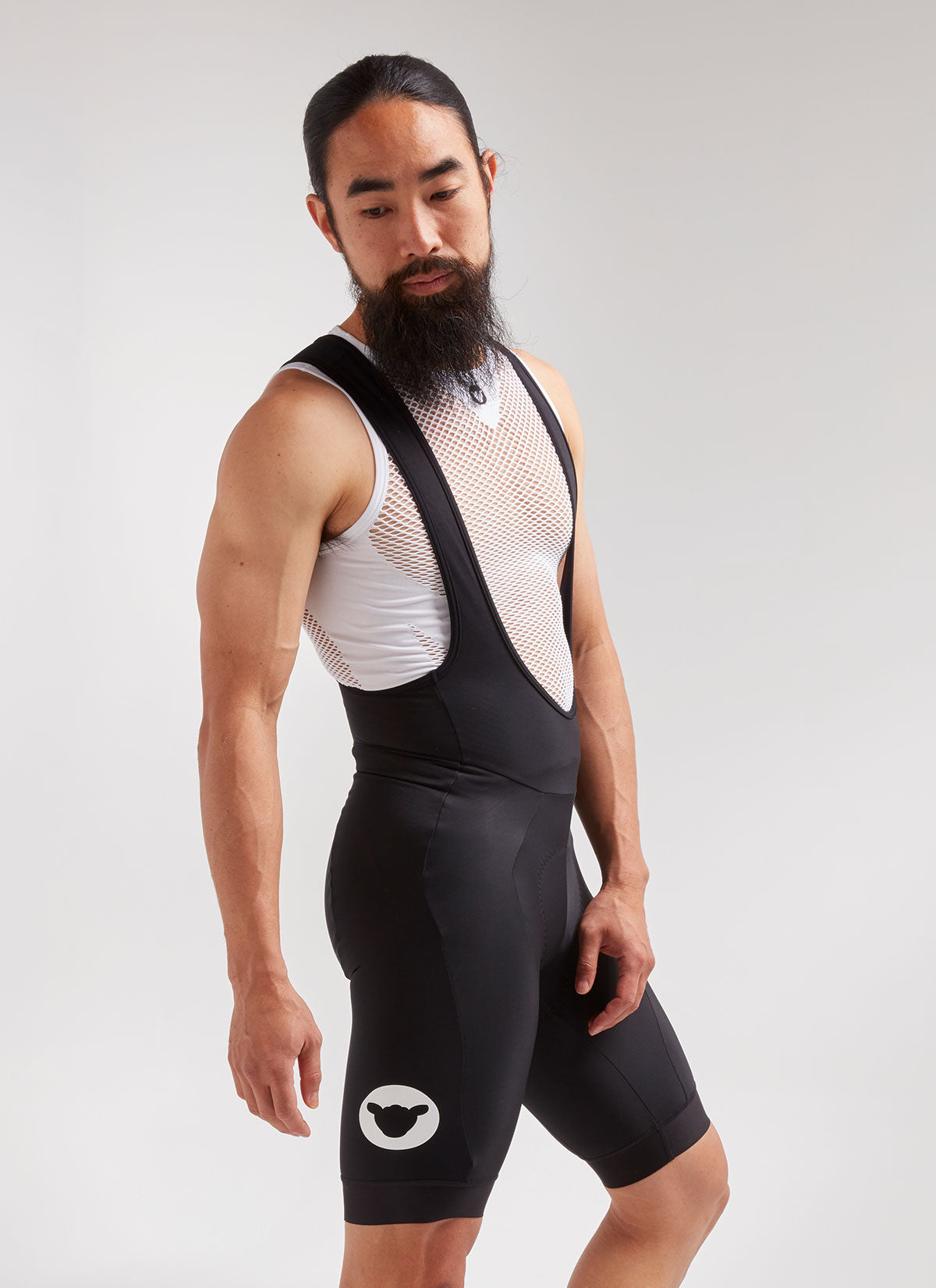 Men's Elements Thermal Bib Short - Black