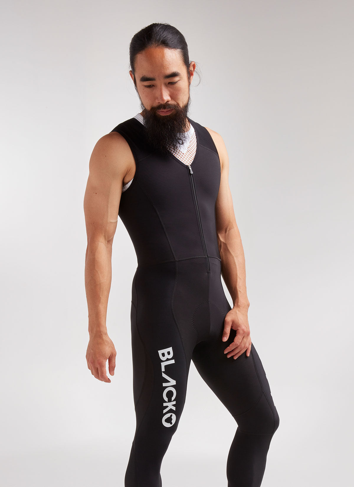 Elements Thermal Bib Tights Long Unisex - Black