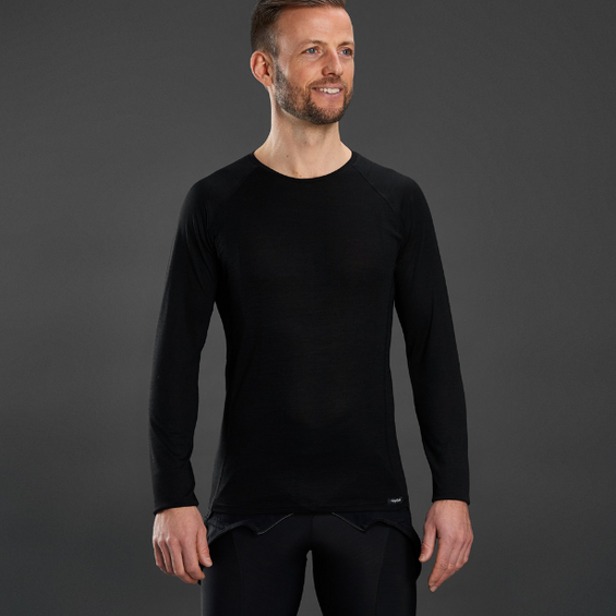 Merino Polyfiber Long Sleeve Base Layer