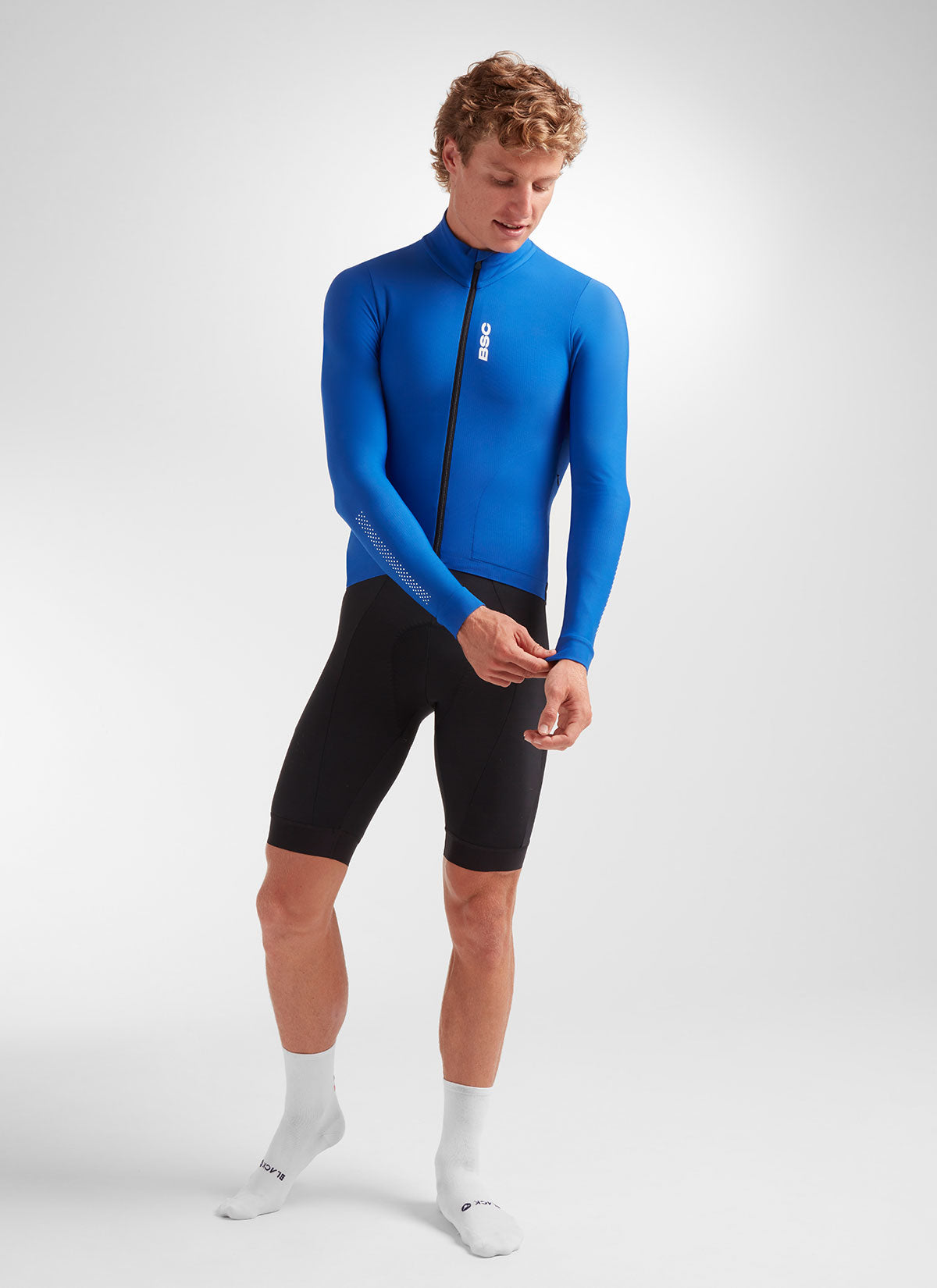 Men's Elements LS Thermal Jersey - Royal Blue