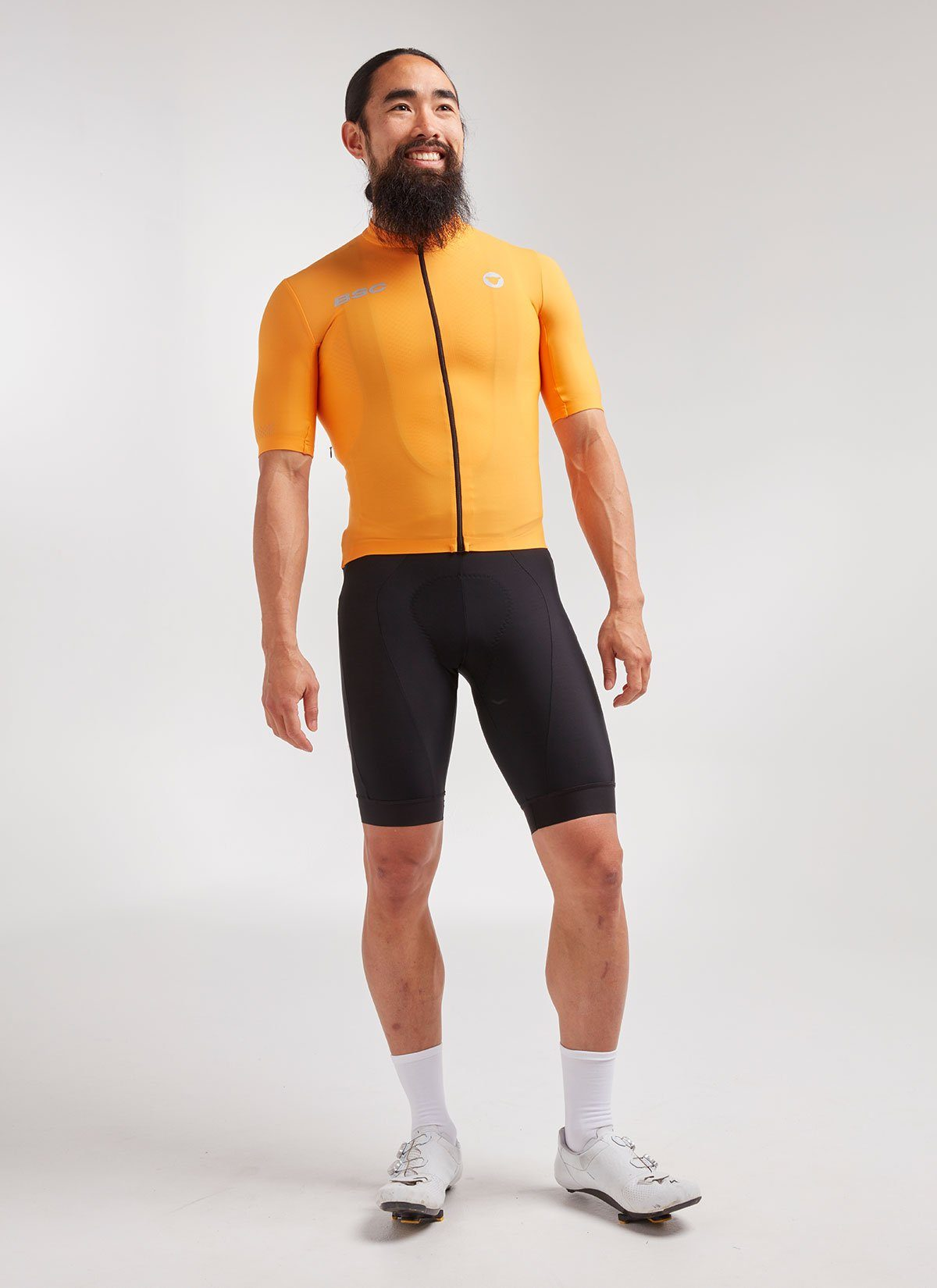 Men's Elements SS Thermal Jersey - Orange