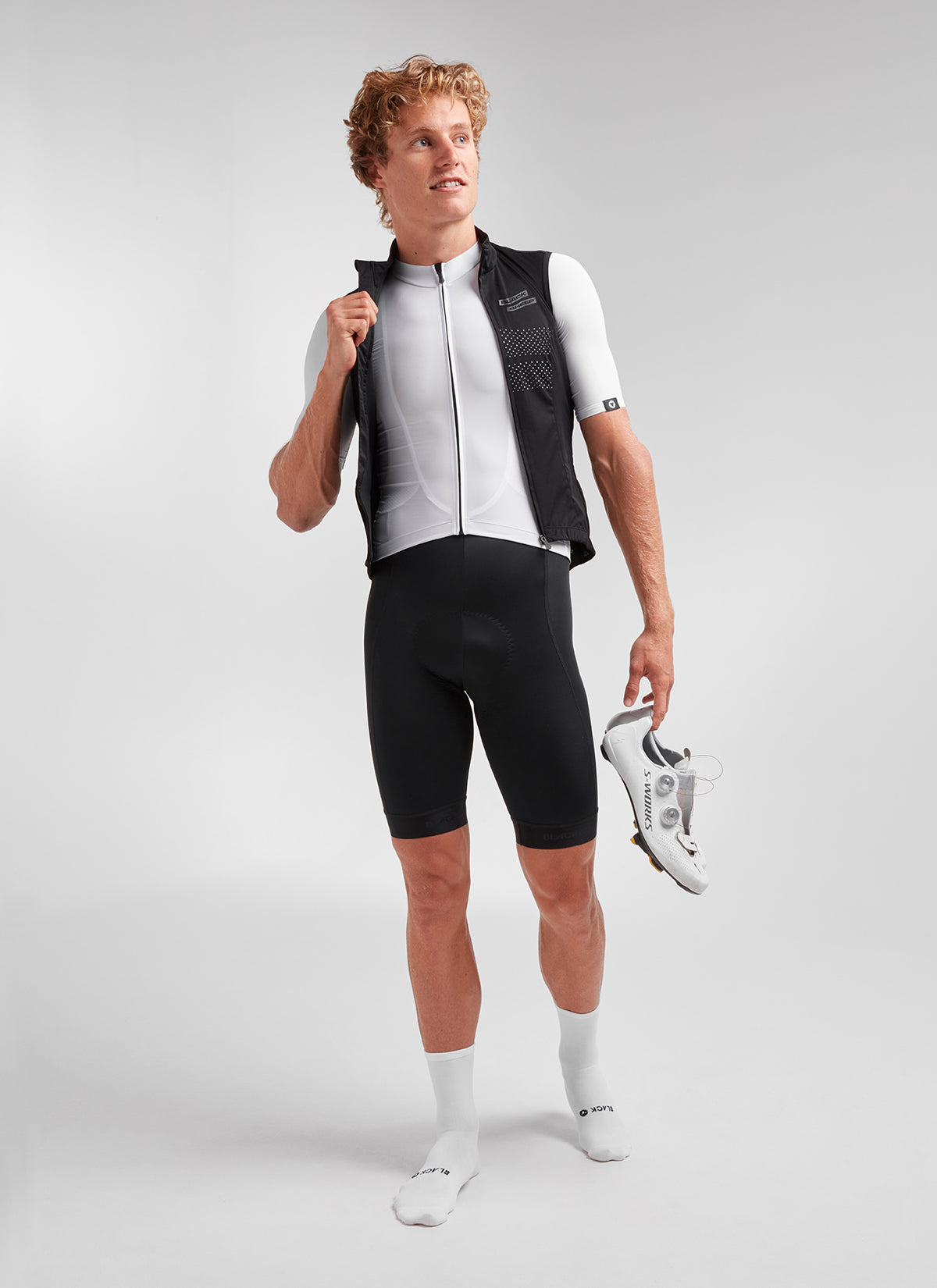Men's Racing Vest Black Sheep - Black