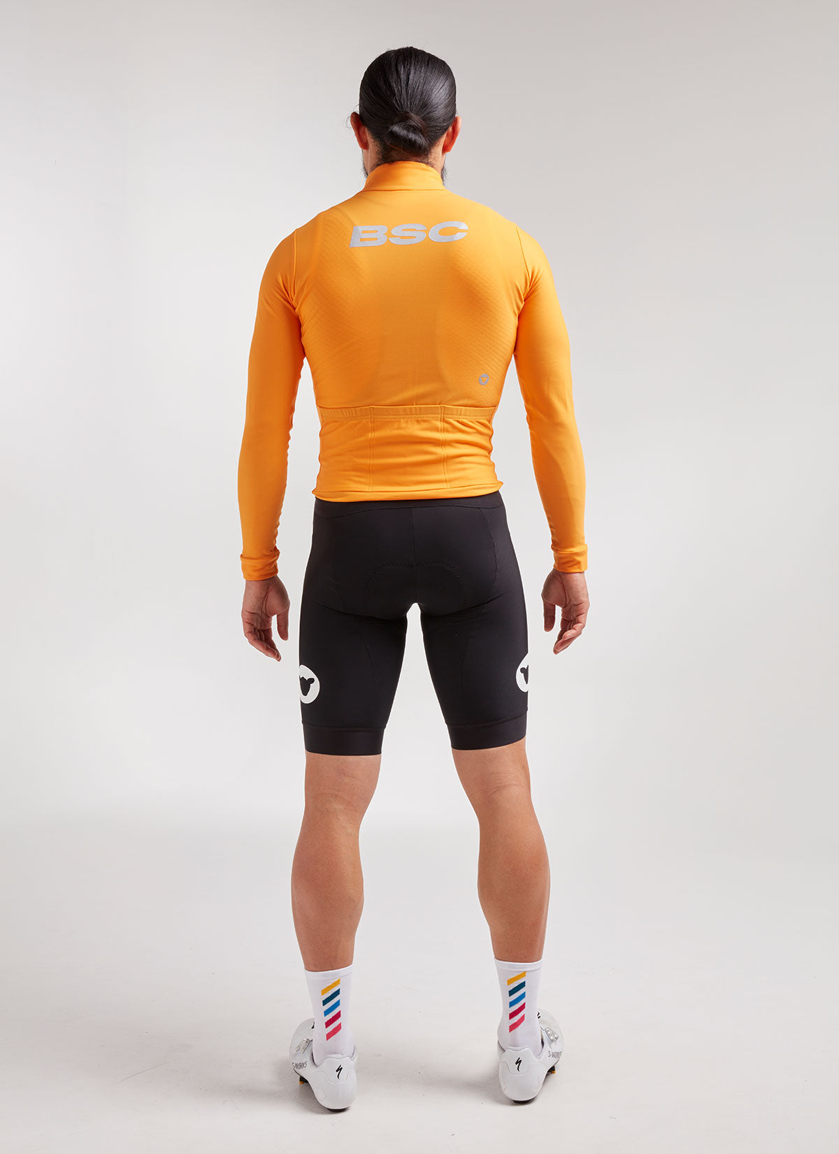 Men's Elements LS Thermal Jersey - Orange