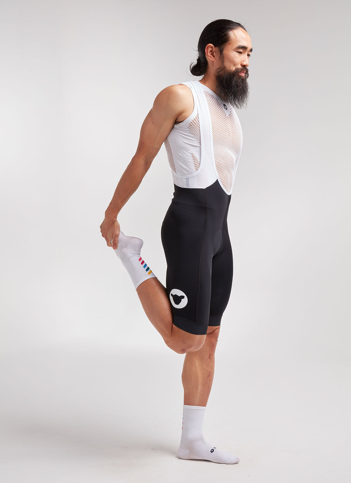Men's Essentials TEAM Bib Short - Black