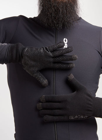 Elements Merino Glove - Sort - Black Sheep