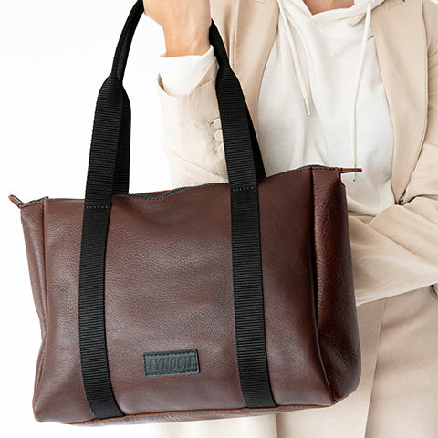 leather totes for her