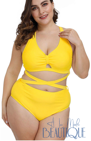Lemonade Two Piece PLUS