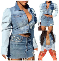 Demi Denim Trucker Jacket