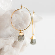 Bella Earrings - Labradorite