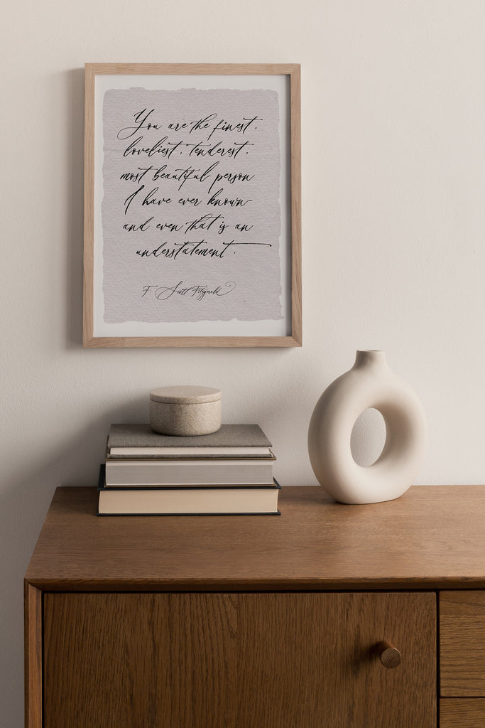 home decor, wall print, calligraphy print for home, wall decor, quote wall decor, quote print for home handmade paper, inspirational quotes for home, made in the usa, woman owned business,