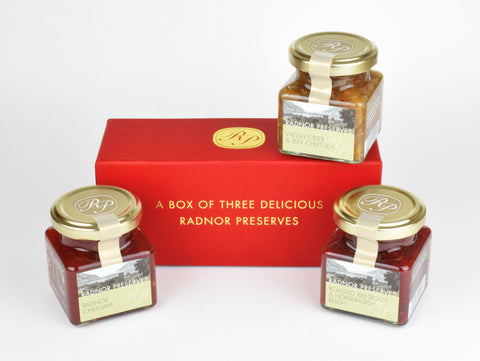 Gift Box of Seasonal Chutneys