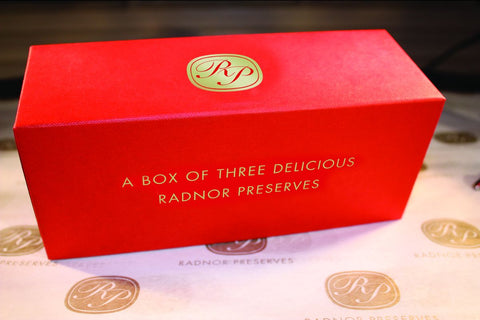 Gift Box of Three Delicious Radnor Preserves