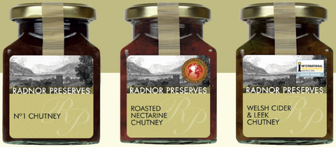 Special Set of Three Radnor Chutneys