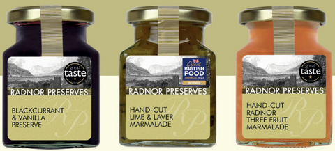 Special Set of Three Radnor Preserves