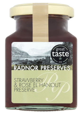 Strawberry & Rose El Hanout Preserve
