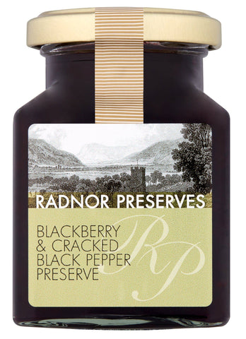 Blackberry & Cracker Black Pepper Preserve Preserve Radnor Preserves