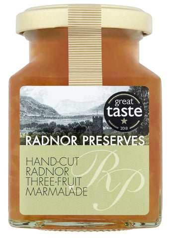 Hand-Cut Three Fruit Marmalade Marmalade Radnor Preserves