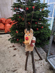 Wooden Reindeer - Large