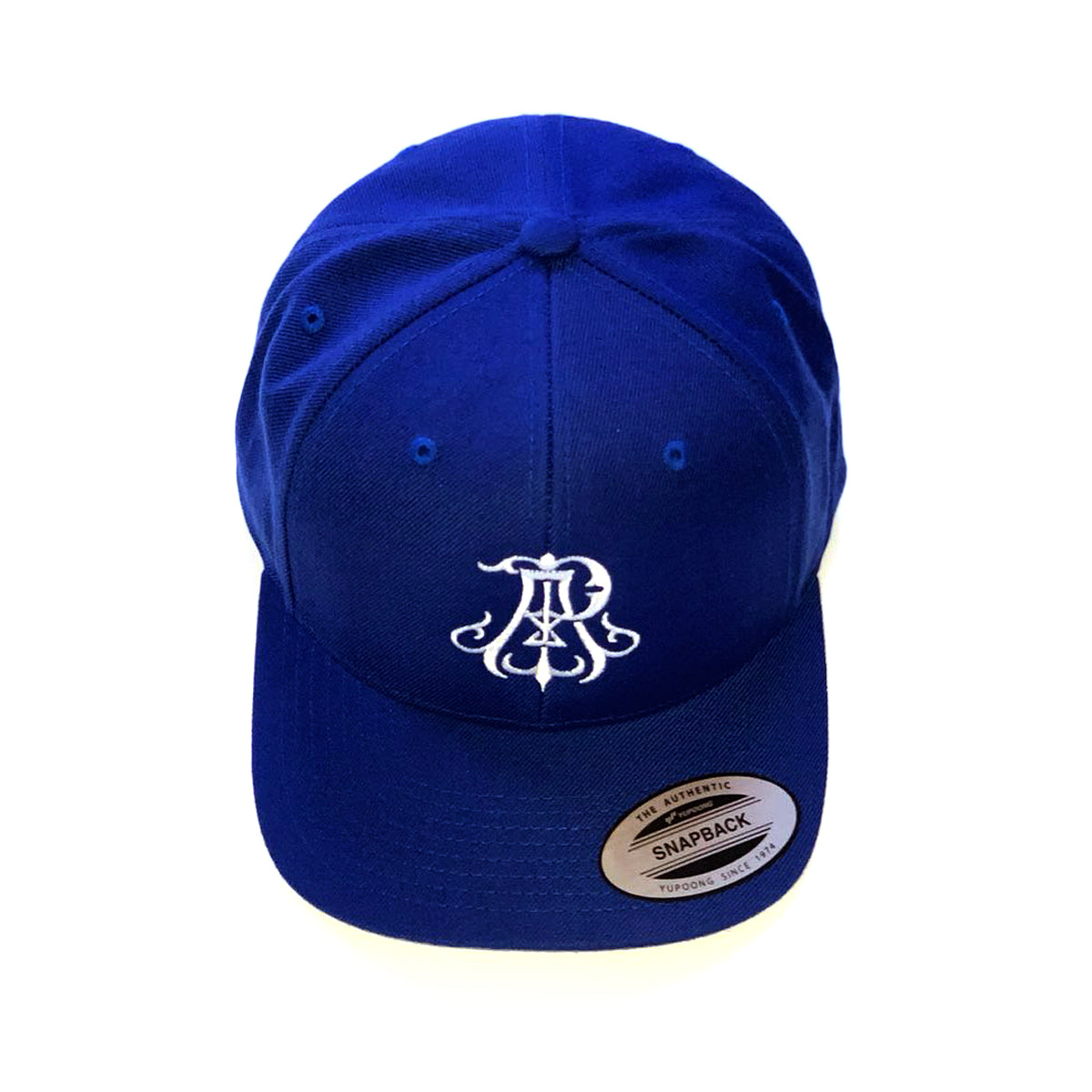 Monogram Snapback Hat - Blue