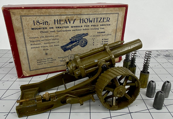"Britains Set No 2 ( 1266 ) 18"" Heavy Howitzer"
