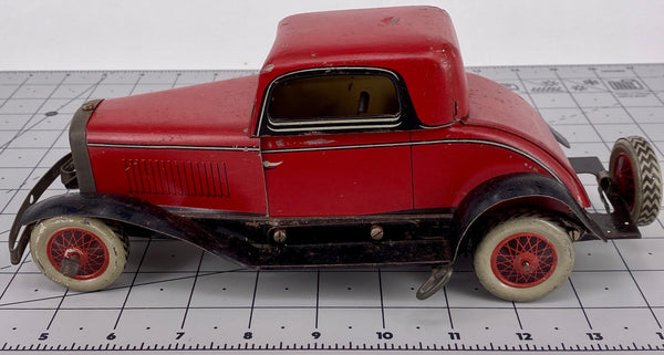 Chad Valley Ubilda tinplate saloon car - 1930's
