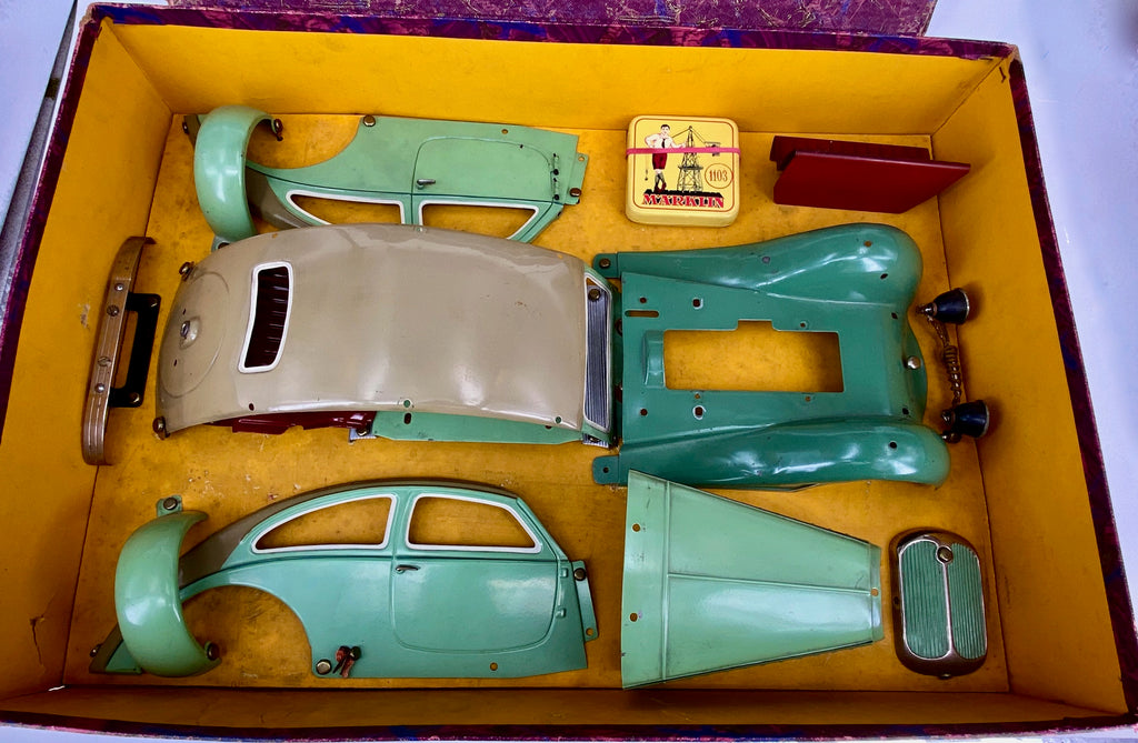 Marklin 1930's Boxed Construction Kit Car 1103ST Streamlined