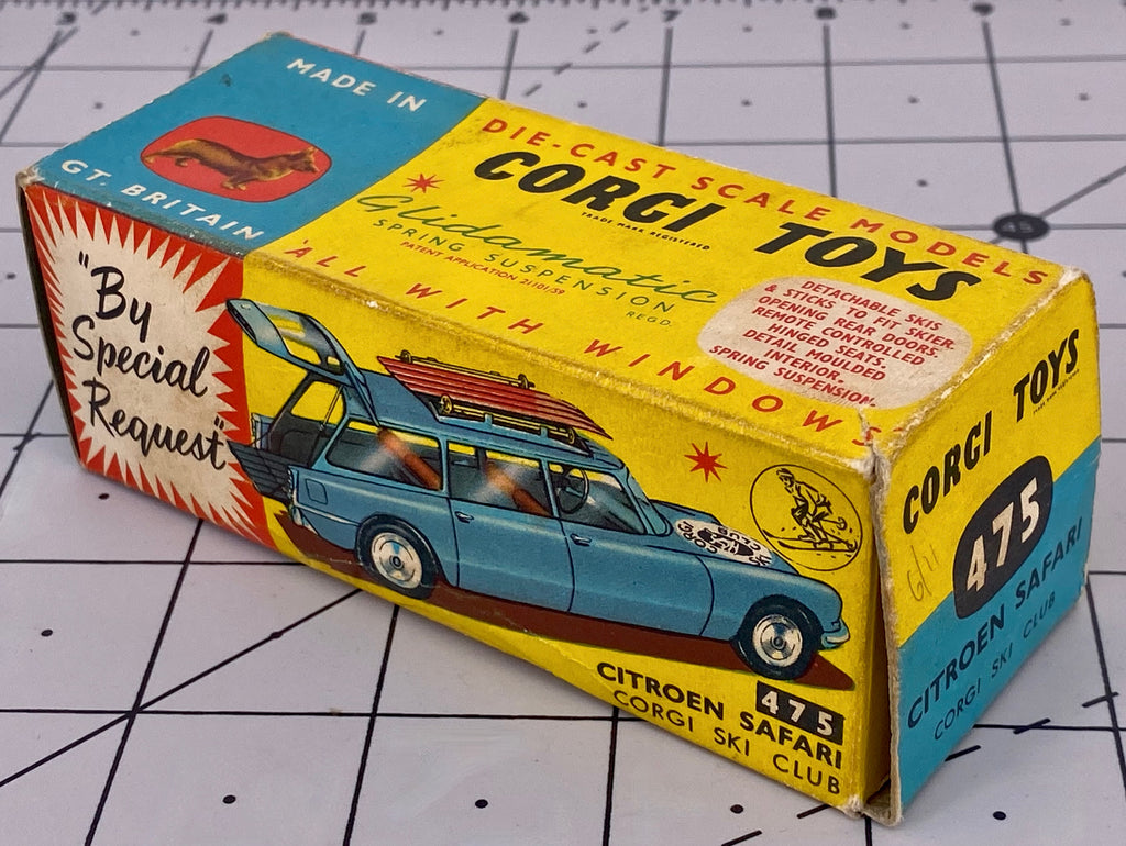 Boxed Corgi 475 Corgi Ski Club Citroen Safari