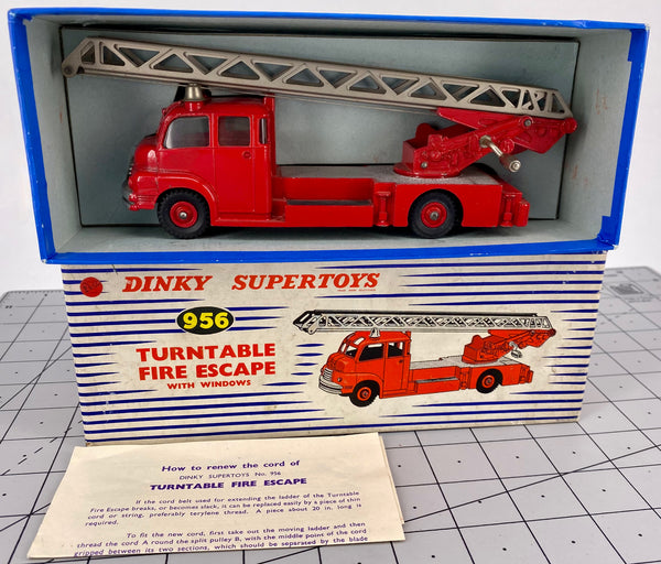 Boxed Dinky 956 Turntable Fire Escape